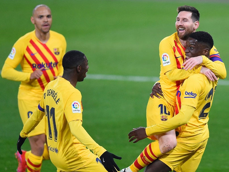 La Liga: Barcelona Raise The Stakes In Madrid Derby After Osasuna Win