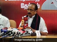 Vaiko Releases MDMK Manifesto, Promises Job Reservation For Tamils