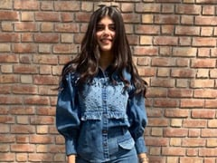Sanjana Sanghi Does Casual Style Right In A Rs 13K Denim On Denim Look