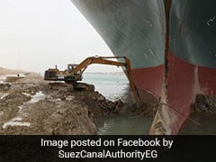 "Suez Canal Could Be Blocked For Weeks By ""Beached Whale"" Ship"