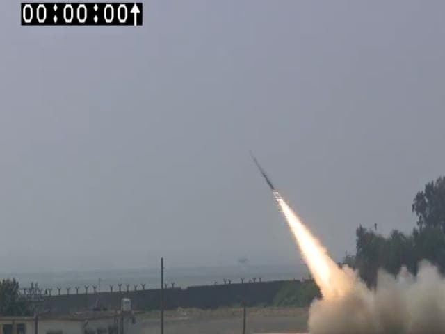Video : India Test-Fires Missile Powered By Advanced Ramjet Technology