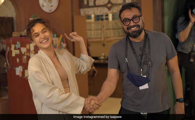 Dobaaraa Wraps. The Parting Note - A Bet Between Taapsee Pannu And Anurag Kashyap