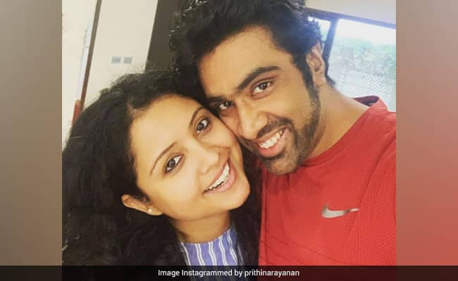 Prithi Ashwin posts adorable message for husband Ravichandran Ashwin after series win