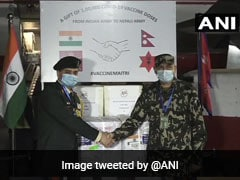 India Gifts 1 Lakh Covid Vaccine Doses To Nepal Army