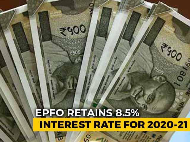 Video : On Your Provident Fund, You'll Continue To Earn 8.5% Interest For This Year