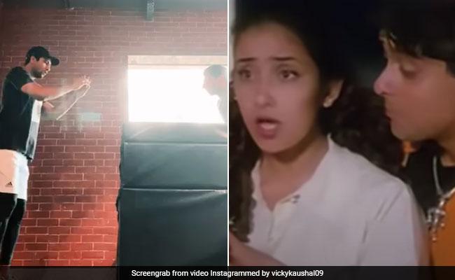 Vicky Kaushal Aces The Box Jump. It Has A Manisha Koirala Connection