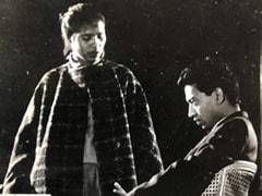 Irrfan Khan And Wife Sutapa Sikdar In Throwback Pic From NSD Days
