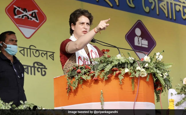 Law To Nullify CAA In Priyanka Gandhi Vadra's 'Guarantees' List For Assam