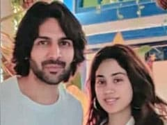 What Janhvi Kapoor Said About Kartik Aaryan's Role In <i>Dostana 2</i>