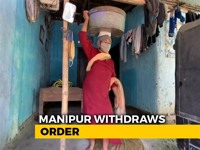 Video : Manipur Withdraws 'No Refuge For Myanmarese' Order: Government Sources