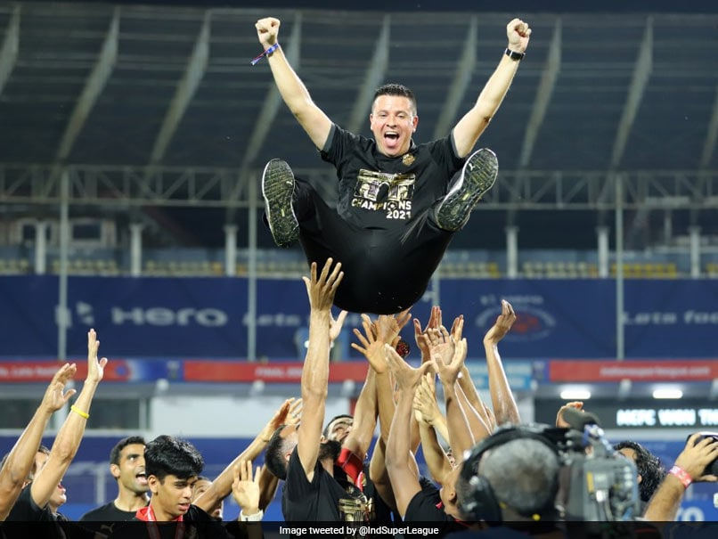 """""""Feeling Impossible To Describe"""": Mumbai City Manager After Winning ISL"""