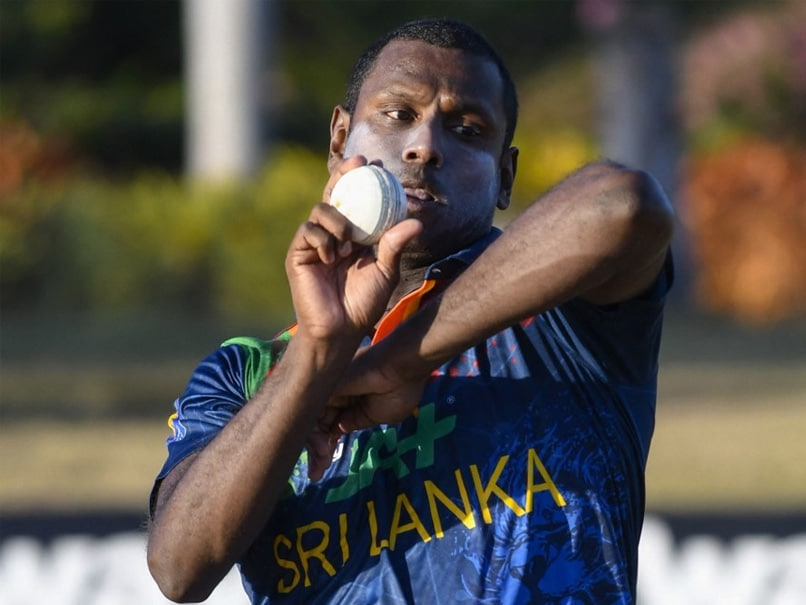 Angelo Mathews Pulls Out Of Sri Lankas West Indies Tour