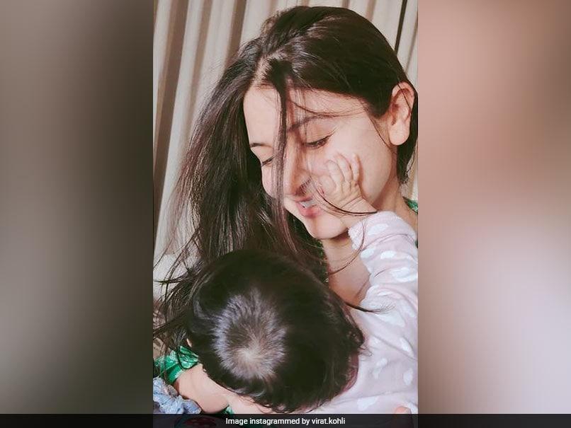 Photos Of Wife Anushka, Daughter Vamika Shared By Virat Kohli