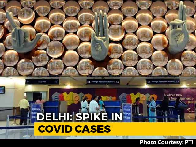Video : Random Covid Tests At Delhi Airport, Railway Station, No Holi In Public