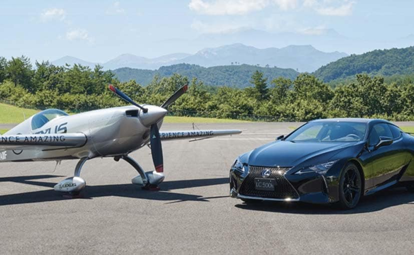The Lexus LC500h Limited Edition is inspired by a partnership between Yoshihide Muroya and Lexus.