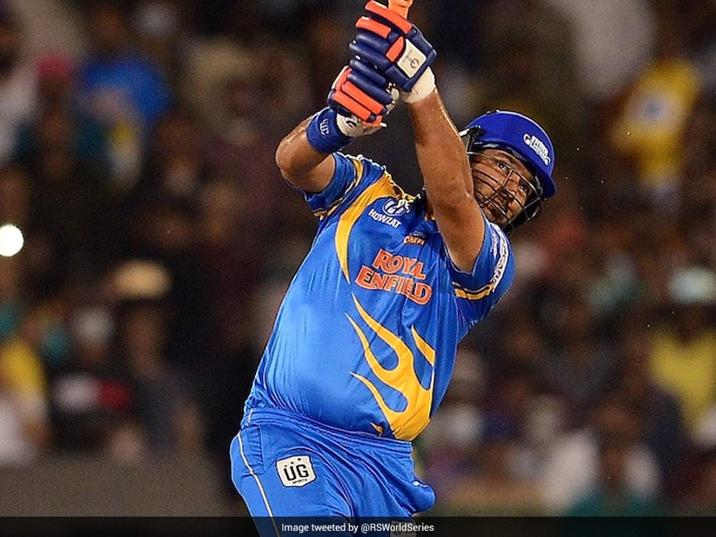 Road Safety World Series: Yuvraj Singh Turns Back The Clock, Hits Four Sixes In Over For India Legends. Watch