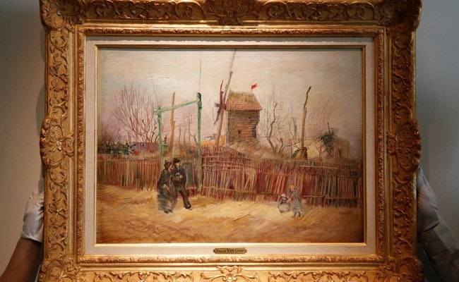 Rare Vincent Van Gogh's Painting Sold For .4 Million In Paris