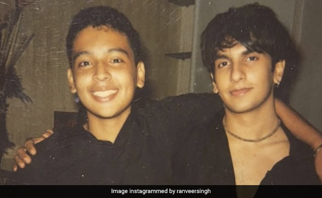 A Throwback From When Ranveer Singh And Rohan Shrestha Were 14