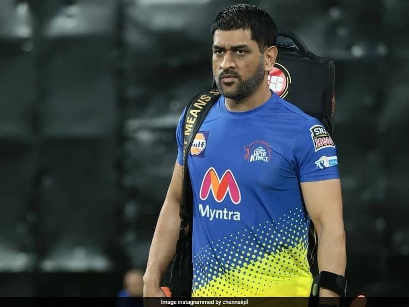 IPL 2021: MS Dhoni Hits Training Ground For Chennai Super Kings. See Pic