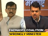 Video : BJP vs Sena Over Ex-Mumbai Top Cop's Letter Bomb