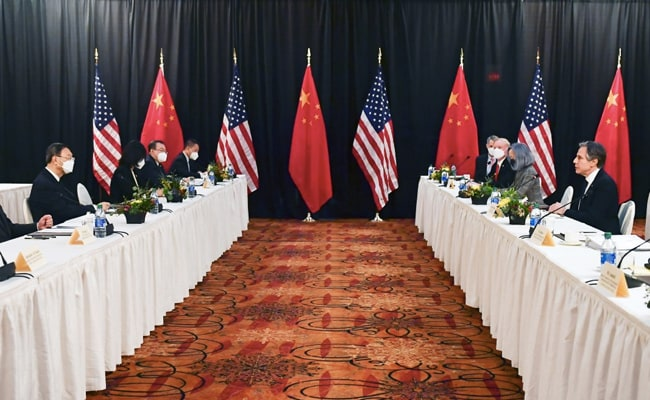 'Dramatic' moment in fiery meeting between U.S. and China