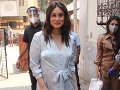 Kareena Kapoor Steps Out In Perfect Summer Style In A Pastel Maxi