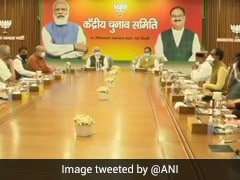 PM Modi Chairs BJP Election Committee Meeting Ahead Of Key Elections