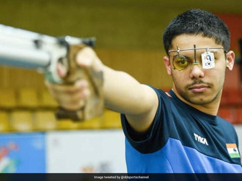 ISSF World Cup: Indias Vijayveer Sidhu Wins Silver Medal In Mens 25m Rapid Fire Pistol Event