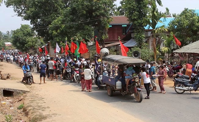 Day Of Shame For Myanmar Armed Forces, Says Anti-Junta Group As 50 Killed