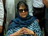 """Video : Government Denied Passport Over """"National Security"""": Mehbooba Mufti"""