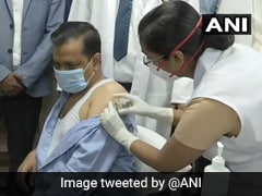 """All Is Well"": Arvind Kejriwal, Parents Get Vaccinated For Covid-19"