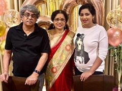 """Wow, She Doesn't Look, Na?"": Pregnant Shreya Ghoshal Shares Pic Of Mom's 60th Birthday"