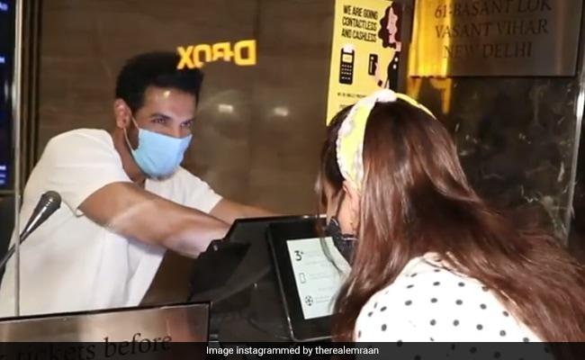 When John Abraham Took Over A Ticket Window For Mumbai Saga