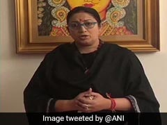 "Bengal Won't Tolerate <i> ""Gunda Raj""</i>: Smriti Irani On Elderly Woman's Death"