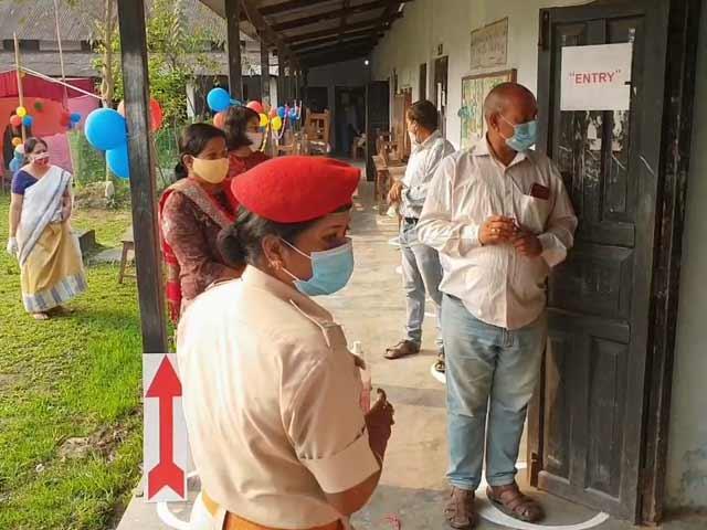 Video : Voter Turnout For Assam Till 1 PM  At 54.9%