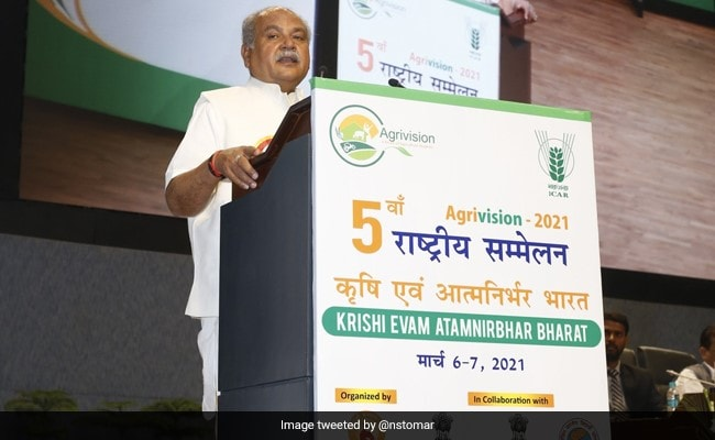 """""""Centre Ready To Talk To Farmers But…"""": Union Minister Narendra Tomar"""