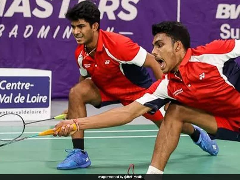 Orleans Masters: Indias Krishna Prasad Garaga-Vishnu Vardhan Panjala Go Down Fighting In Mens Doubles Final