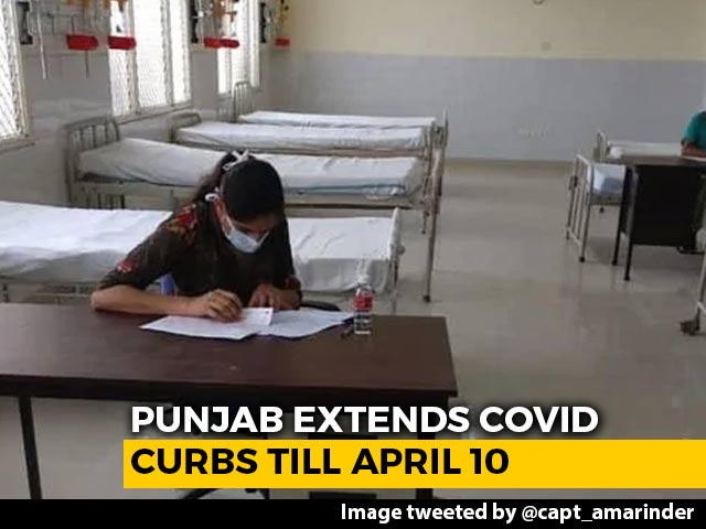 Video : With Covid UK Strain Most Prevalent, Punjab Extends Curbs Amid Spike