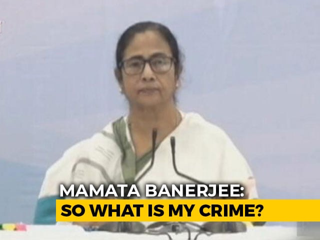Video : Did Call BJP Leader, Leaking Conversation An Offence: Mamata Banerjee