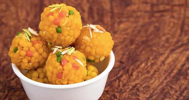 Watch: Make Halwai-Style Boondi Ladoo At Home With This Easy Recipe