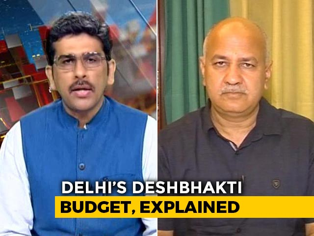 Video : Delhi's First Paperless Budget Dedicated To India's 75th Year Of Independence: Manish Sisodia