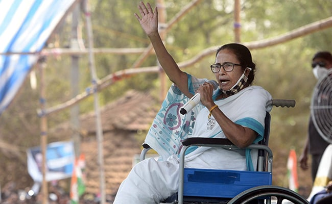 BJP, Trinamool Spar Over Mamata Banerjee's Video Shaking Injured Leg