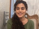 Video : My Dream Of Not Being Replaceable Is Coming True: Taapsee Pannu