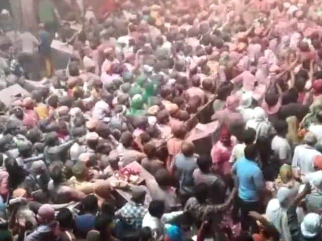 Video : 2-Day Holi Celebrations In Prayagraj Amid Covid Surge In UP's Holy Cities