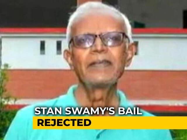 Video : Activist Stan Swamy, 83, Denied Bail In Elgar Case, In Jail Since October