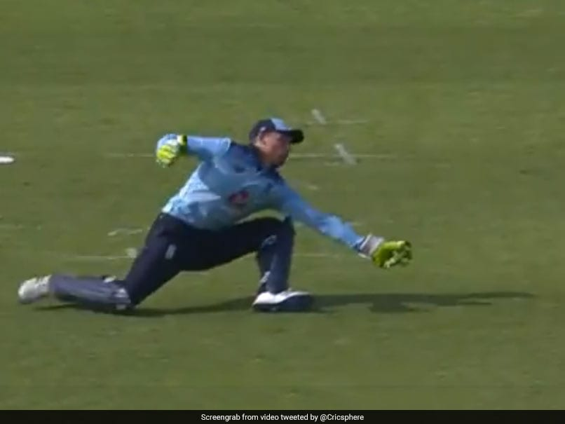 Watch: Jos Buttler Takes Wonder Catch To End Rishabh Pants Brilliant Knock