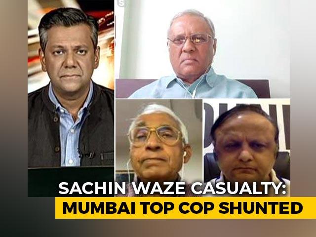 Video : Ambani Security Scare: Maharashtra Government In Damage Control Mode?
