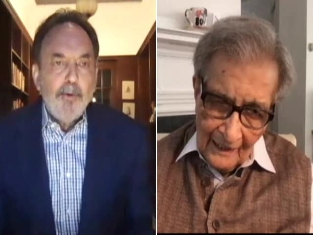 "Video : Stock Market Can ""Easily Go Up"" Even When Economy's Bad: Amartya Sen"