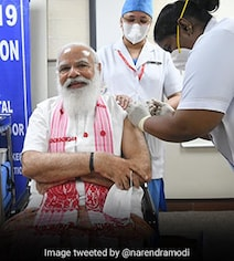 India's Vaccine Drive Jumped 4-Fold As More Included And PM Received Shot