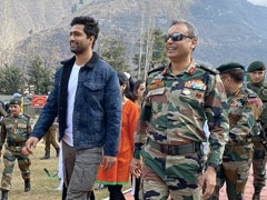 Vicky Kaushal Visits Uri Base Camp In Kashmir. Read His Post